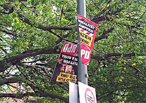 NPD-Plakate
